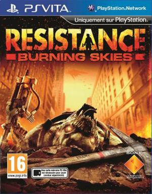 Resistance : Burning Skies PS Vita