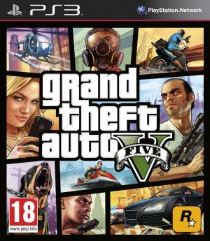 Grand Theft Auto V ( GTA 5 ) PS3