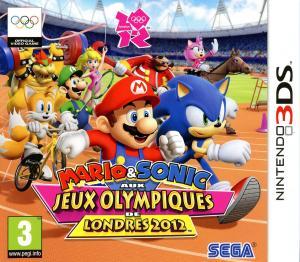 Echanger le jeu Mario & Sonic aux Jeux Olympiques de Londres 2012 sur 3DS
