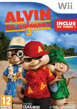Echanger le jeu Alvin & the Chipmunks : Chipwrecked  sur Wii