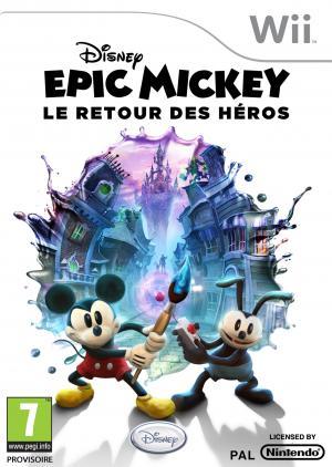 Echanger le jeu Epic Mickey : Le Retour des Héros sur Wii
