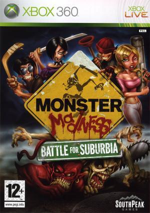 Echanger le jeu Monster Madness : Battle for Suburbia sur Xbox 360