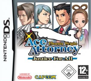 Echanger le jeu Phoenix Wright : Ace Attorney : Justice for All sur Ds