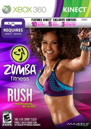 Echanger le jeu Zumba Fitness Rush sur Xbox 360