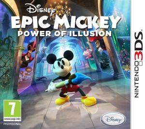 Echanger le jeu Epic Mickey : Power of Illusion sur 3DS