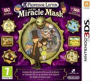 Echanger le jeu Professeur Layton et le Masque des Miracles sur 3DS