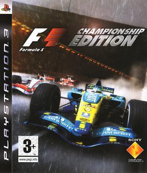 Echanger le jeu F1 : Championship Edition sur PS3