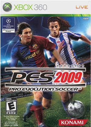 Echanger le jeu PES 2009 sur Xbox 360