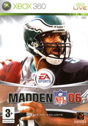 Echanger le jeu Madden NFL 06 sur Xbox 360