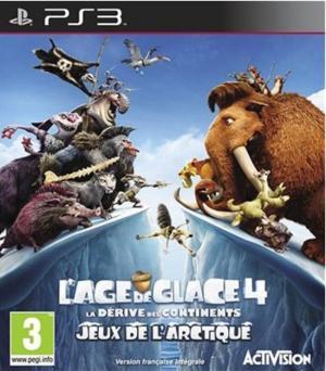 Echanger le jeu L'Âge de Glace 4 : La Dérive des Continents - Jeux de l'Arctique ! sur PS3