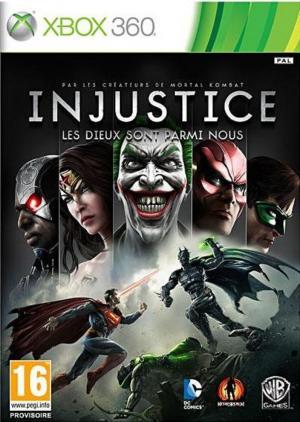 Echanger le jeu Injustice : Les dieux sont parmi nous sur Xbox 360
