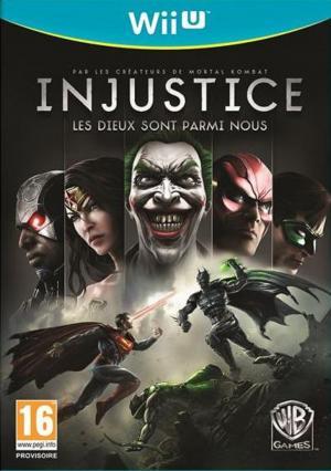 Echanger le jeu Injustice : Les dieux sont parmi nous sur Wii U