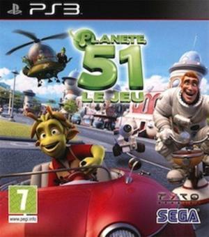 Echanger le jeu Planète 51 sur PS3