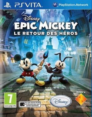 Echanger le jeu Epic Mickey : Le Retour des Héros sur PS Vita