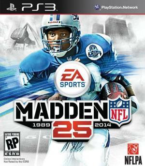 Echanger le jeu Madden NFL 25 sur PS3