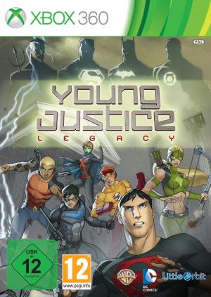 Echanger le jeu Young Justice Legacy sur Xbox 360