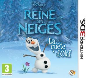 Echanger le jeu La reine des neiges: la quête d'Olaf sur 3DS