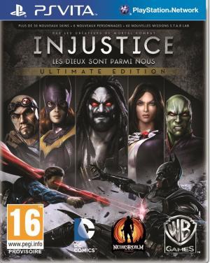 Echanger le jeu Injustice: Les Dieux sont parmis nous - Ultimate Edition sur PS Vita