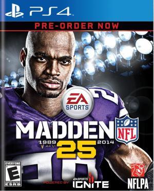 Echanger le jeu Madden NFL 25 sur PS4