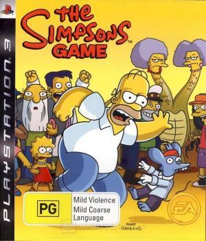 Echanger le jeu The Simpsons Game sur PS3