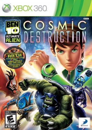 Echanger le jeu Ben 10 Ultimate Alien : cosmic destruction sur Xbox 360