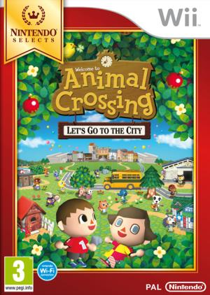 Echanger le jeu Animal Crossing : Let's Go To The City sur Wii