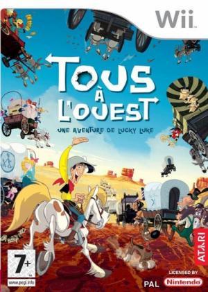 Echanger le jeu Tous a L'ouest Lucky Luke sur Wii