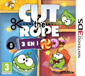 Echanger le jeu Cut the rope 3 en 1 sur 3DS