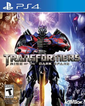 Echanger le jeu Transformers Rise of the Dark Spark sur PS4