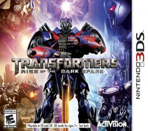 Echanger le jeu Transformers Rise of the Dark Spark sur 3DS