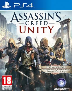 Echanger le jeu Assassin's Creed Unity sur PS4