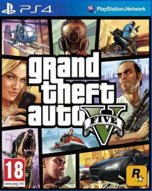 Echanger le jeu Grand Theft Auto V (GTA 5) sur PS4