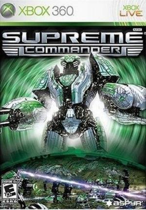 Echanger le jeu Supreme Commander sur Xbox 360
