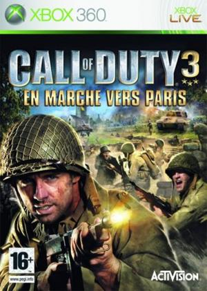 Echanger le jeu Call of Duty 3 sur Xbox 360