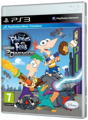 Echanger le jeu Phineas et Ferb : voyage dans la deuxième dimension sur PS3