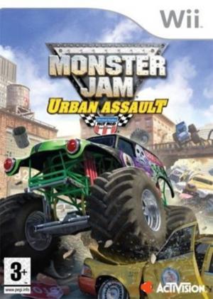 Echanger le jeu Monster Jam Chaos Urbain sur Wii