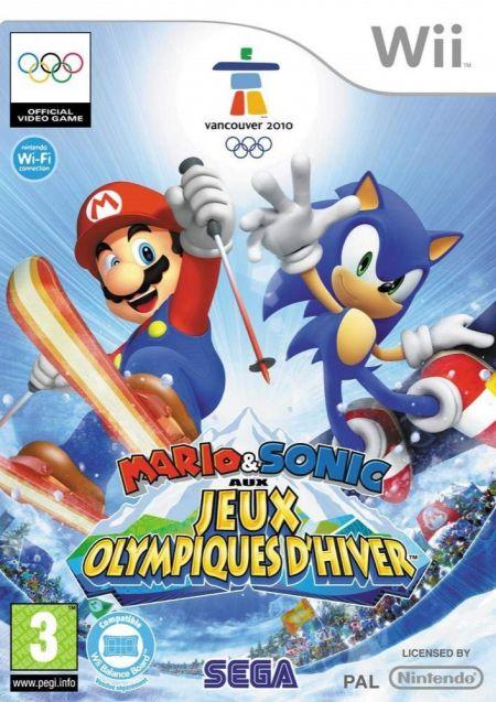 Echanger le jeu Mario & Sonic aux Jeux Olympiques d'Hiver sur Wii