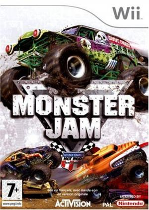 Echanger le jeu Monster Jam sur Wii