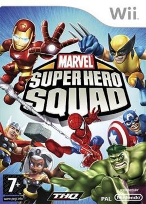 Echanger le jeu Marvel Super Hero Squad sur Wii