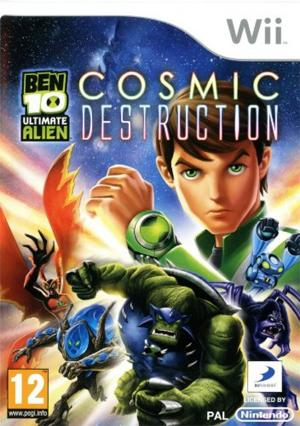 Echanger le jeu Ben 10 Ultimate Alien : cosmic destruction sur Wii