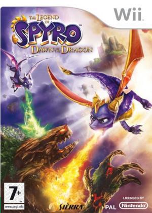 Echanger le jeu La Légende de Spyro : Naissance d'un Dragon sur Wii