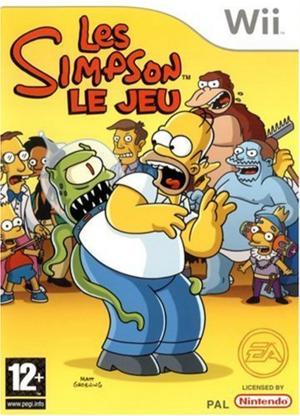 Echanger le jeu Les Simpson Le Jeu sur Wii