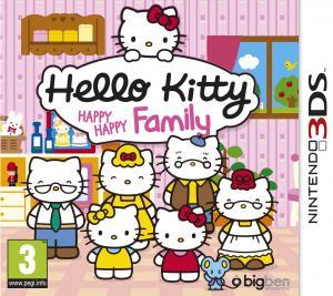 Echanger le jeu Hello Kitty Happy Happy Family sur 3DS
