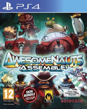 Echanger le jeu Awesomenauts Assemble!  sur PS4