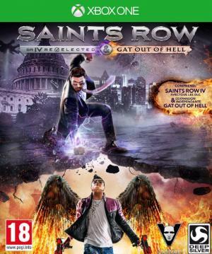 Echanger le jeu Saints row 4: Gat out of hell sur Xbox One