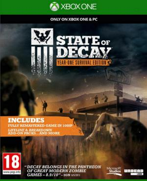 Echanger le jeu State Of Decay : Year-one Survival Edition sur Xbox One