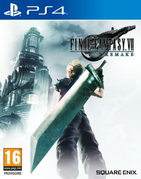 Echanger le jeu Final Fantasy VII Remake sur PS4