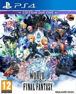 Echanger le jeu World of Final Fantasy sur PS4
