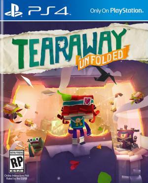 Echanger le jeu Tearaway Unfolded sur PS4
