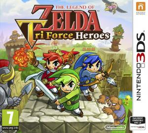 Echanger le jeu The Legend of Zelda : Tri Force heroes sur 3DS